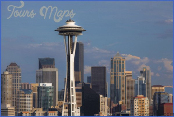 seattle space needle observation deck 17 Seattle Space Needle Observation Deck
