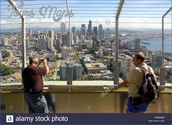 seattle space needle observation deck 4 Seattle Space Needle Observation Deck