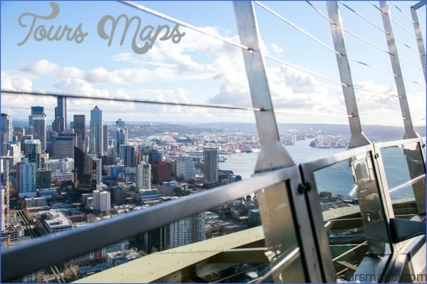seattle space needle observation deck 7 Seattle Space Needle Observation Deck