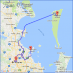 22239 map route detailed 150x150 Moreton Island  Map and Travel Guide