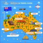 54629323 australia travel guide with map flag ocean and sights flat vector illustration ver6 150x150 Perth Map and Travel Guide