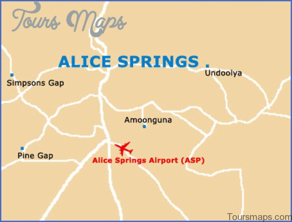alice springs city Northern Territory Australia Map and Travel Guide
