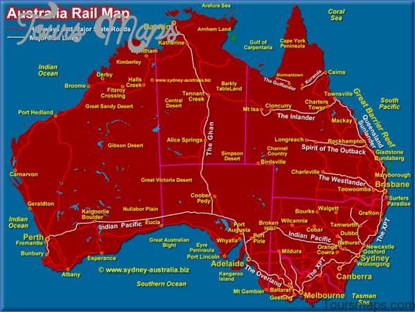 australia rail map Northern Territory Australia Map and Travel Guide