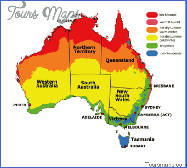 australia weather map Northern Territory Australia Map and Travel Guide