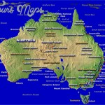 australia map large 150x150 Northern Territory Australia Map and Travel Guide