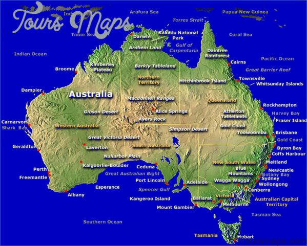 australia map large Northern Territory Australia Map and Travel Guide
