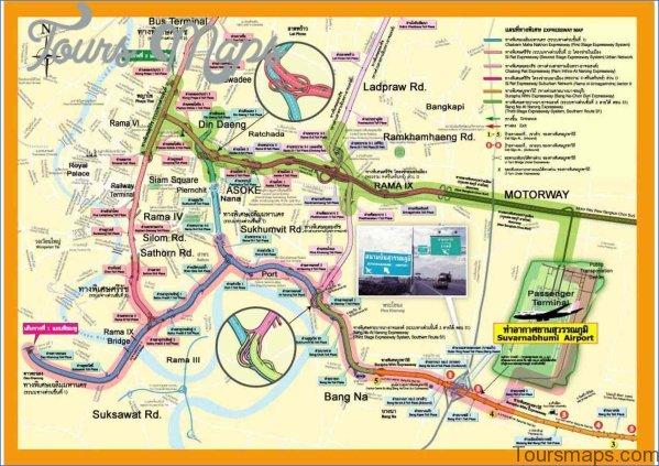 bangkok map and travel guide 1 Bangkok Map and Travel Guide