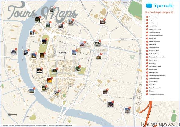 bangkok map and travel guide 11 Bangkok Map and Travel Guide