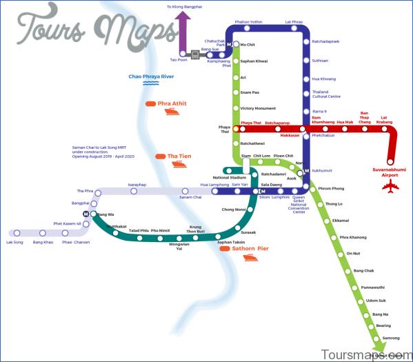 bangkok map and travel guide 13 Bangkok Map and Travel Guide