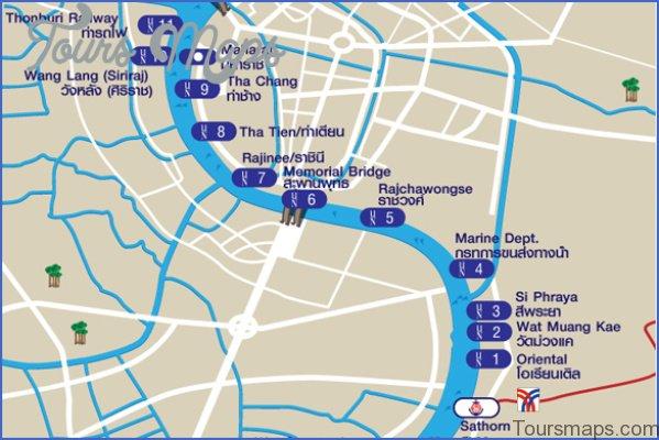 bangkok map and travel guide 16 Bangkok Map and Travel Guide