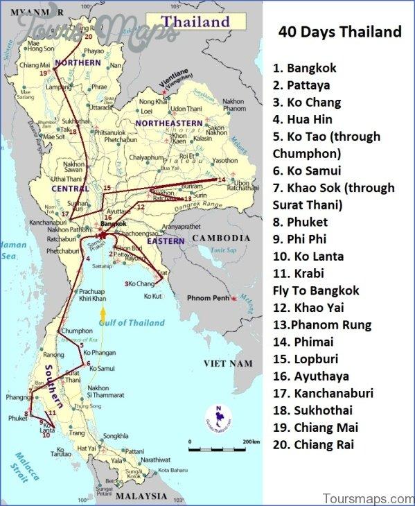 bangkok map and travel guide 2 Bangkok Map and Travel Guide