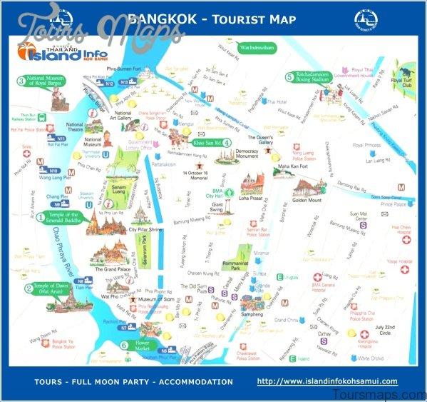 bangkok map and travel guide 5 Bangkok Map and Travel Guide