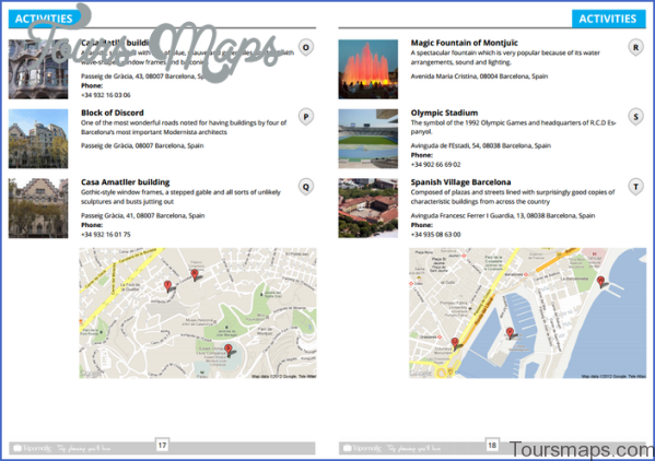 barcelona map and travel guide 1 Barcelona Map and Travel Guide