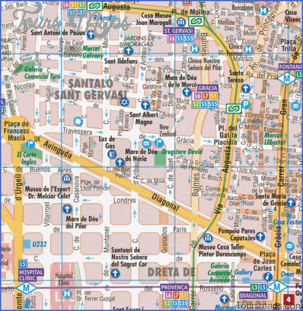 barcelona map and travel guide 2 Barcelona Map and Travel Guide