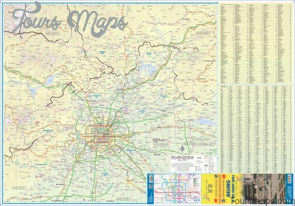 beijing map and travel guide 0 Beijing Map and Travel Guide