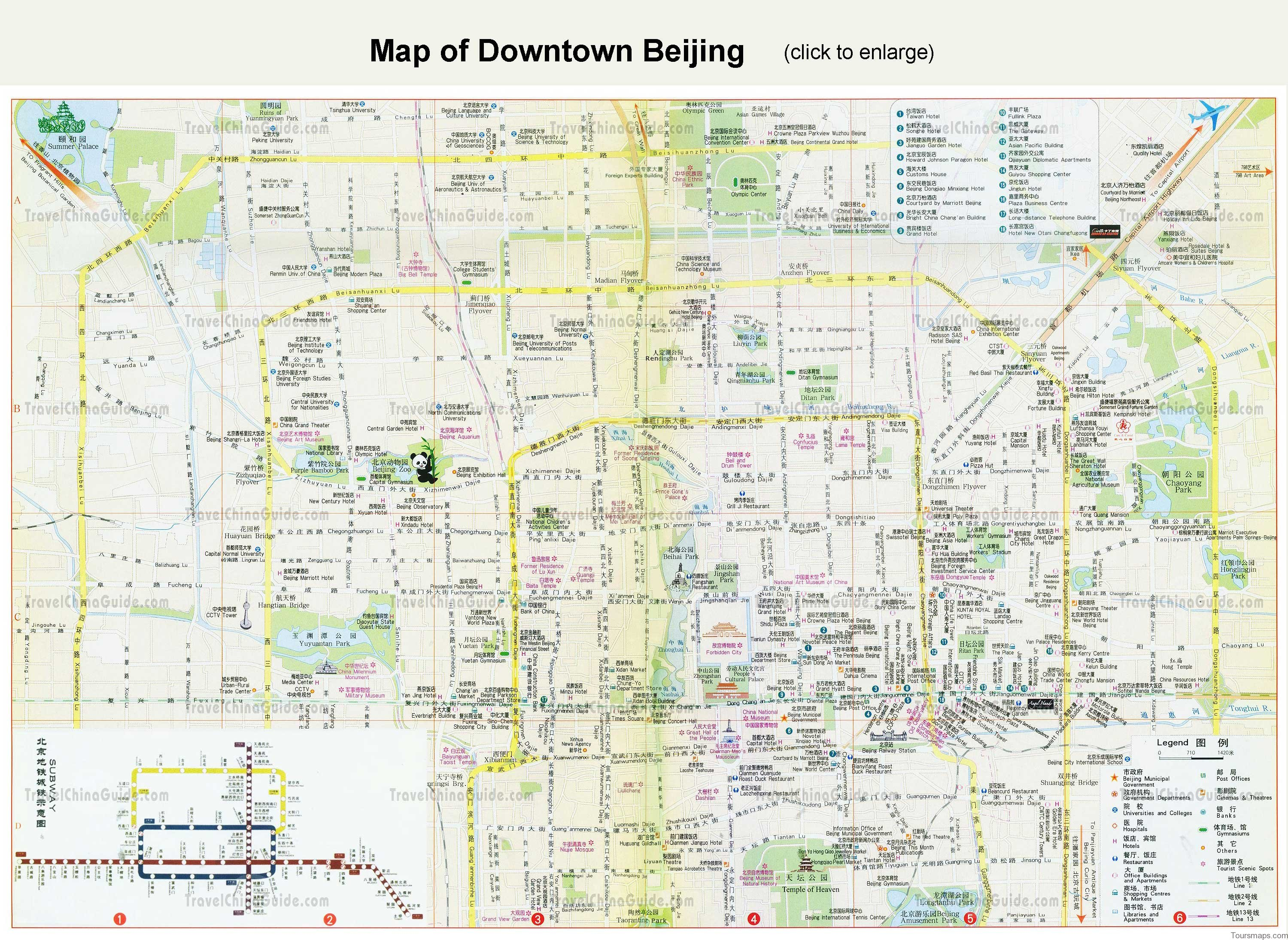 beijing map and travel guide 11 Beijing Map and Travel Guide