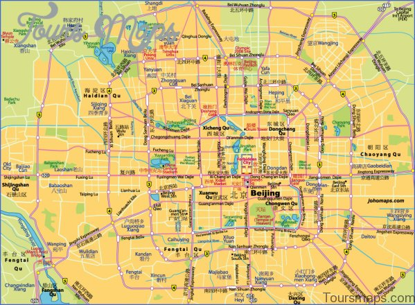 beijing map and travel guide 12 Beijing Map and Travel Guide