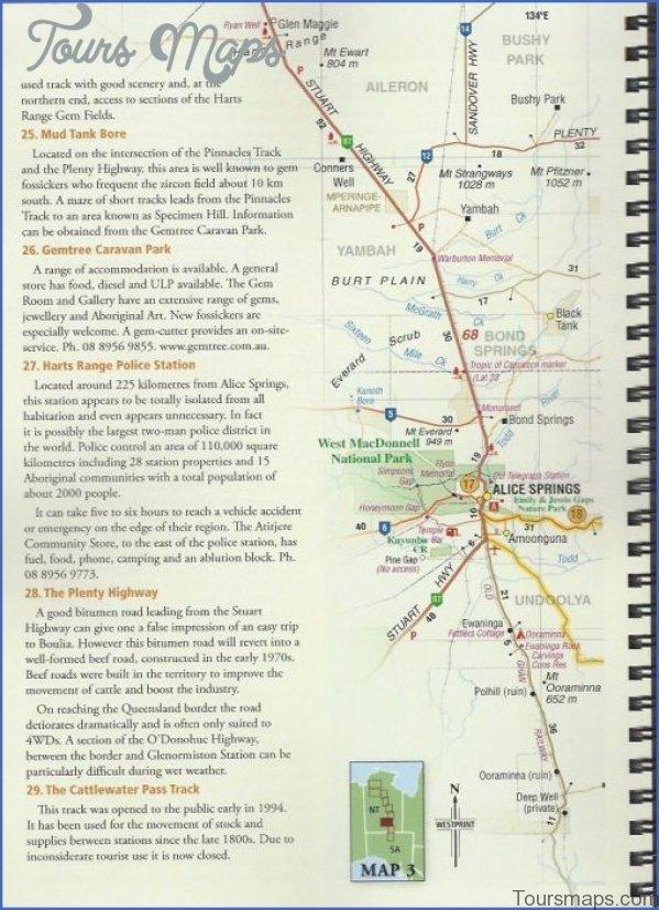binns3 1 Map of Binns Track NT Australia