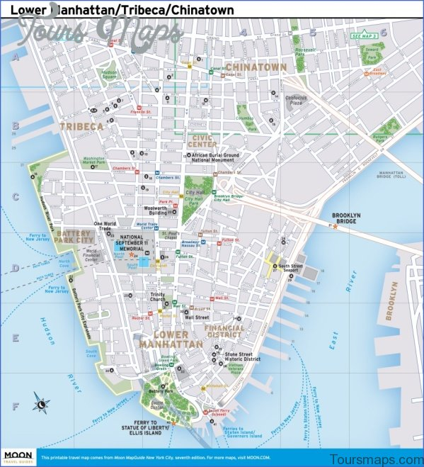 brooklyn map and travel guide 10 Brooklyn Map and Travel Guide