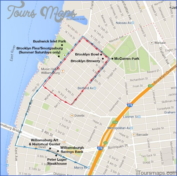 brooklyn map and travel guide 14 Brooklyn Map and Travel Guide