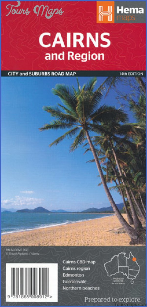 cairns map and travel guide 12 Cairns Map and Travel Guide