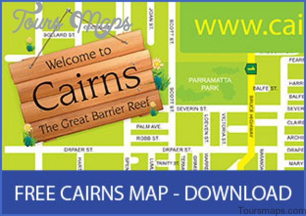 cairns map and travel guide 14 Cairns Map and Travel Guide