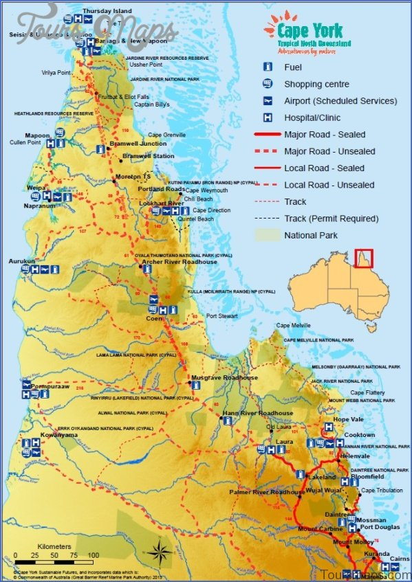 cairns map and travel guide 16 Cairns Map and Travel Guide
