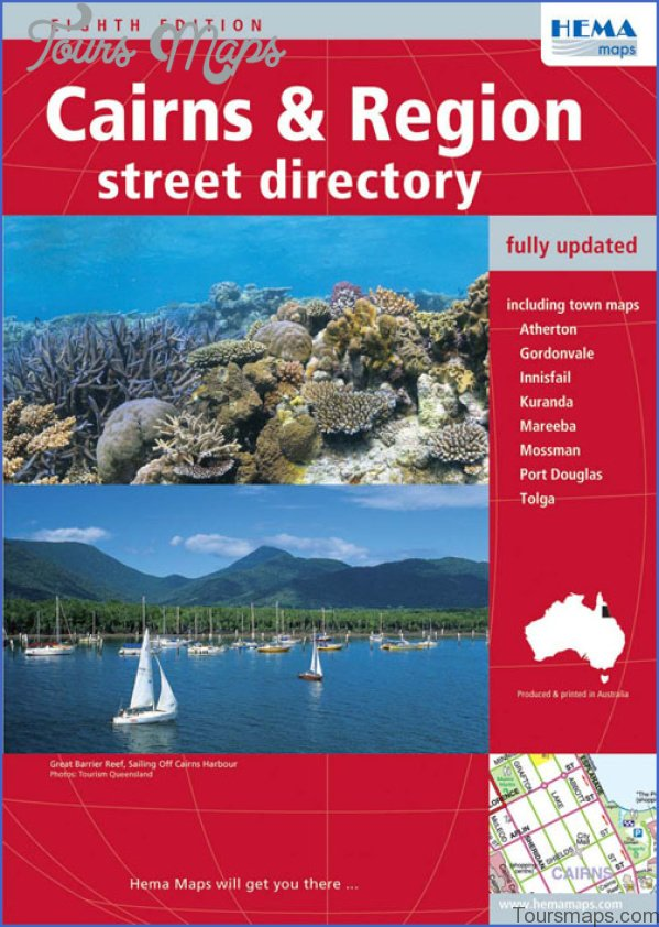 cairns map and travel guide 2 Cairns Map and Travel Guide