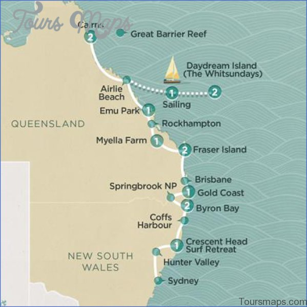 cairns map and travel guide 8 Cairns Map and Travel Guide