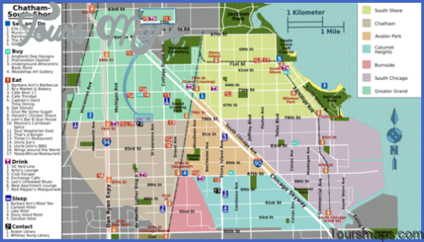 chicago map and travel guide 51 Chicago Map and Travel Guide