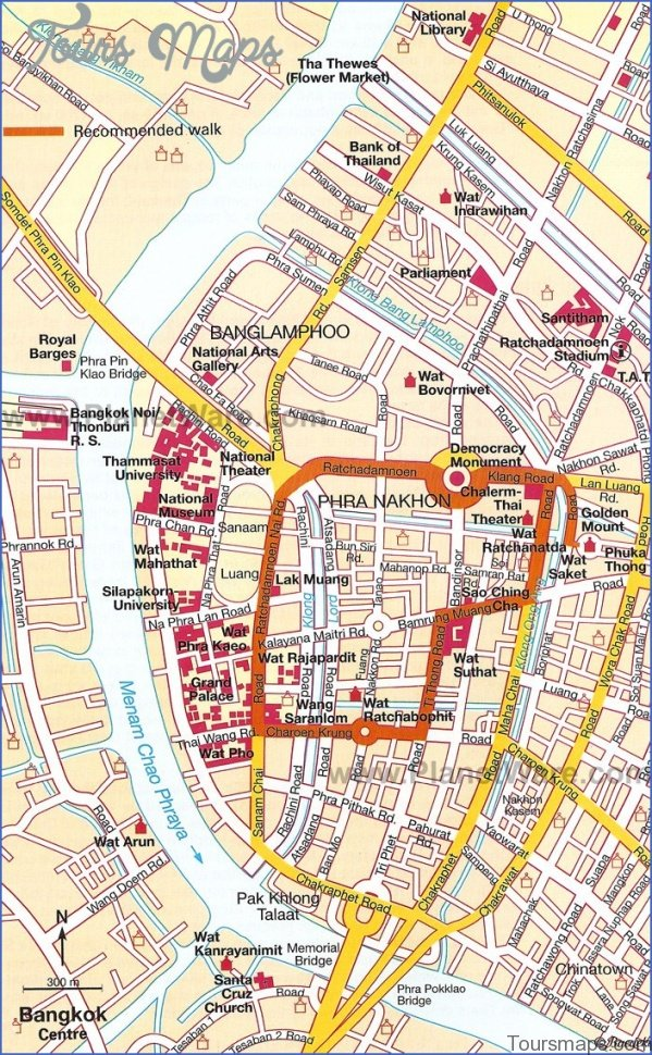discover bangkok map of bangkok 12 Discover Bangkok Map of Bangkok