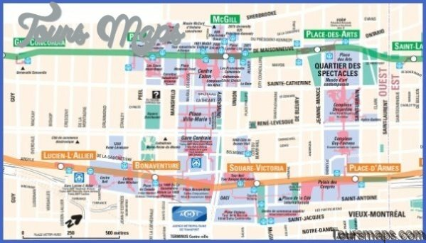discover montreal map of montreal 02 Discover Montreal Map of Montreal
