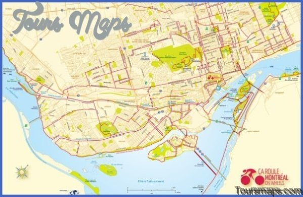 discover montreal map of montreal 1 Discover Montreal Map of Montreal