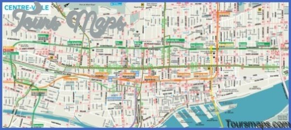 discover montreal map of montreal 5 Discover Montreal Map of Montreal