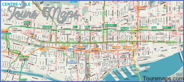 discover montreal map of montreal 7 Discover Montreal Map of Montreal