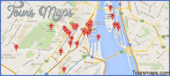 discover montreal map of montreal 92 Discover Montreal Map of Montreal