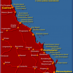 east queensland map 150x150 Queensland Map and Travel Guide