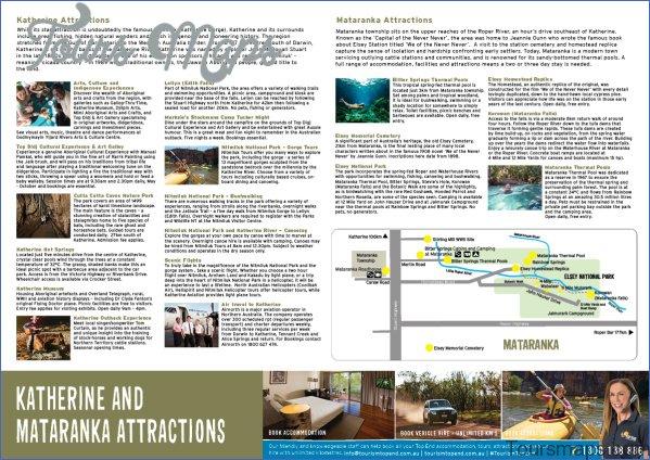 katherinemap 20182 Map of Mataranka Australia Tourism