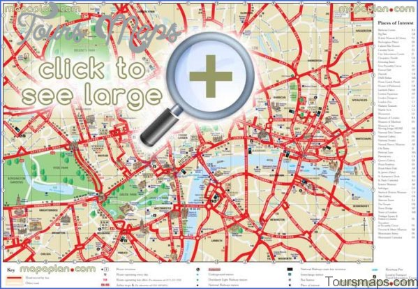 london map and travel guide 4 London Map and Travel Guide