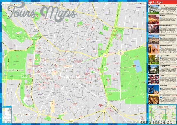 madrid map and travel guide 10 Madrid Map and Travel Guide