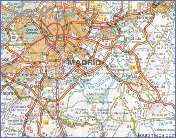 madrid map and travel guide 16 Madrid Map and Travel Guide