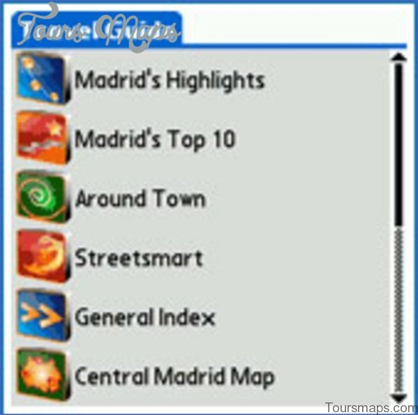 madrid map and travel guide 5 Madrid Map and Travel Guide