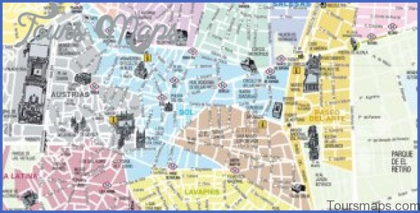 madrid map and travel guide 6 Madrid Map and Travel Guide