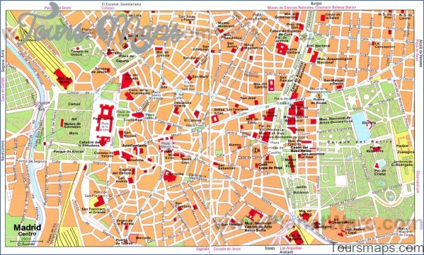 madrid map and travel guide 7 Madrid Map and Travel Guide