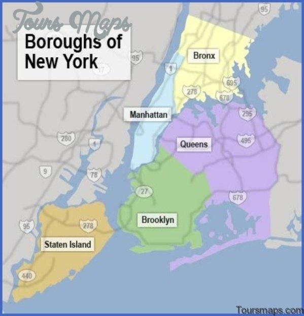 map of new york city 01 Map of New York City