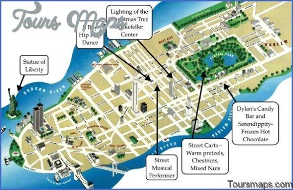 map of new york city 111 Map of New York City