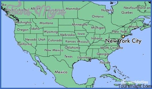 map of new york city 171 Map of New York City