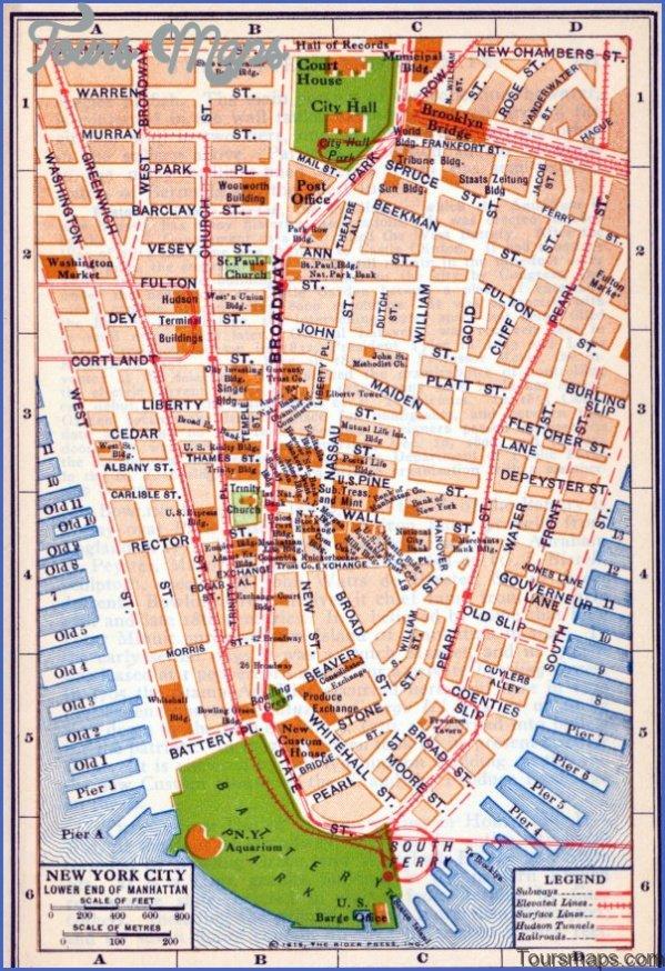 map of new york city 61 Map of New York City