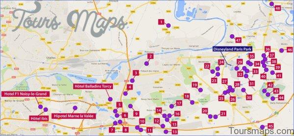 map of paris private paris tour 6 Map of Paris Private Paris Tour