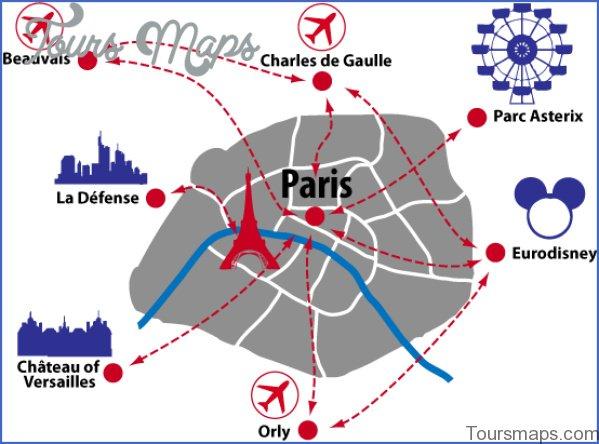 map of paris private paris tour 7 Map of Paris Private Paris Tour